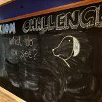 Blackboard at Axiom Learning Center in Kuala Lumpur